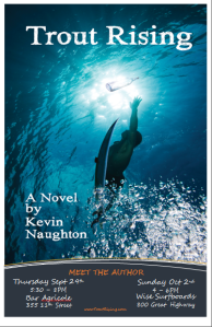 Trout Rising - Book Signings in Sept 2011